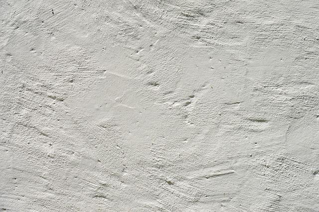 mur en plâtre sec